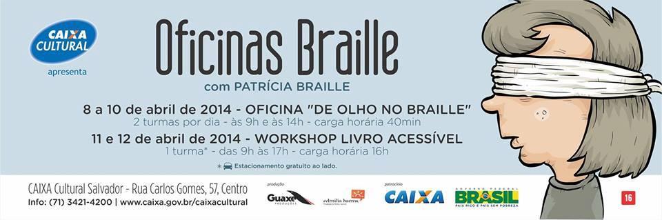 Braille Caixa Cultural.