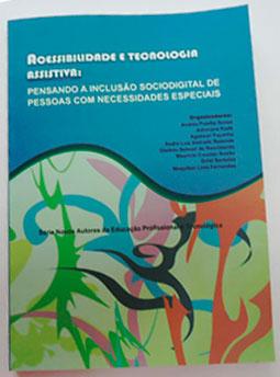 Capa do livro Acessibilidade e Tecnologia Assistiva.