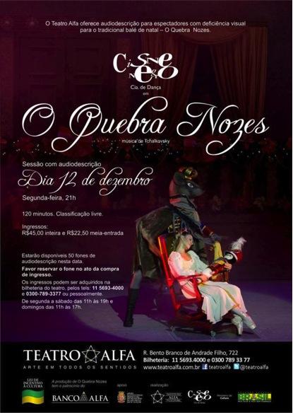 """Imagem convite para """"O Quebra Nozes""""."""