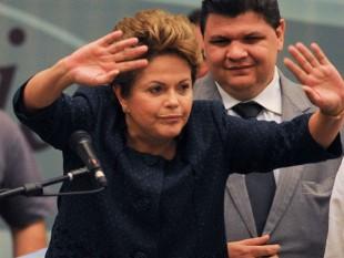 Na foto, a presidente Dilma.
