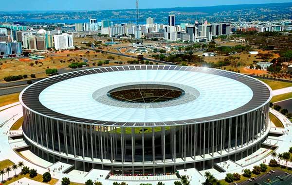 Estádio Mané Garrincha em Brasília.