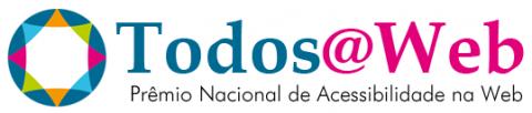 Logomarca Todos@Web - Prêmio Nacional de Acessibilidade na Web.