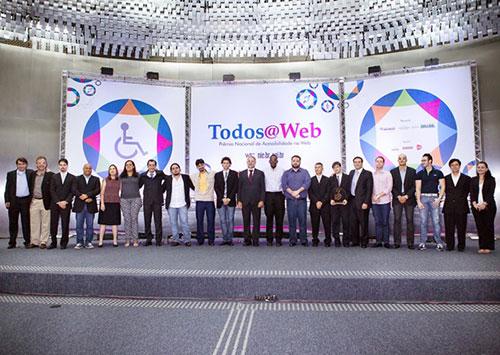 Vencedores  da 2ª edição Todos@Web.
